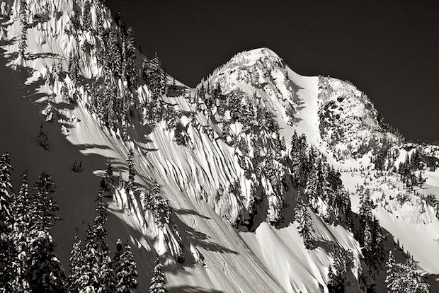 Mt. Herman Towers Above Mt. Baker Ski Area